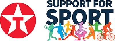 Texaco Support for Sport Logo